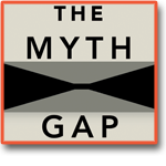 The Myth Gap Logo